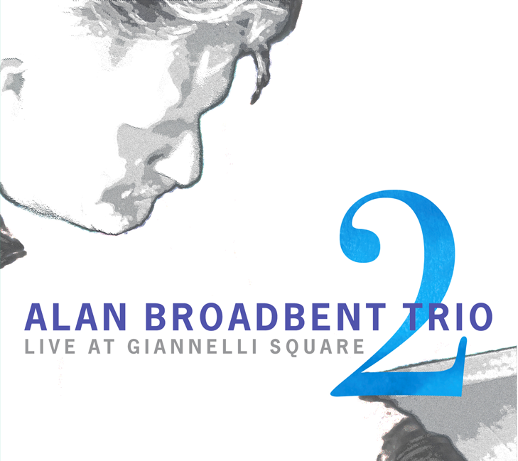 CD Cover: Alan Broadbent Trio 2, design by Penina S. Finger