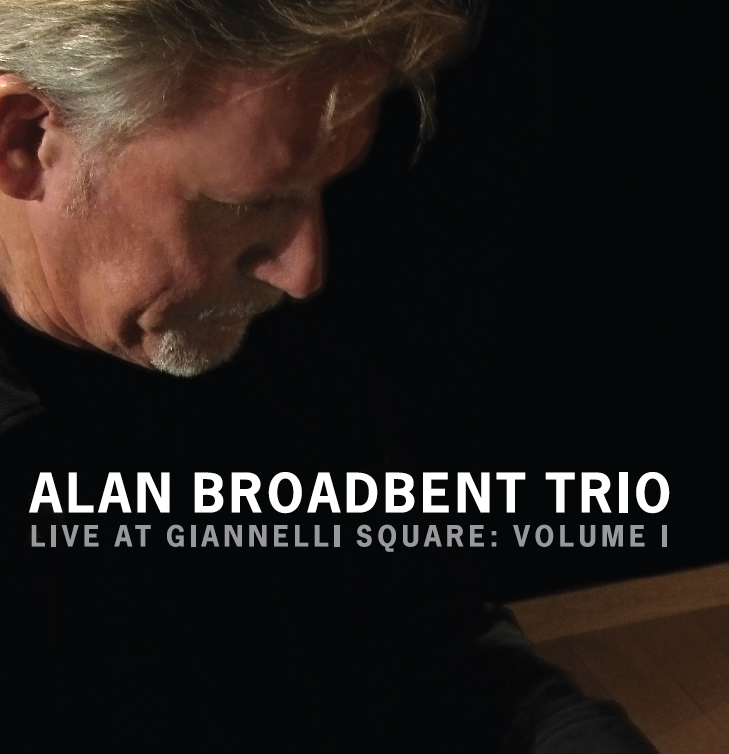 CD Cover: Alan Broadbent Trio, design by Penina S. Finger