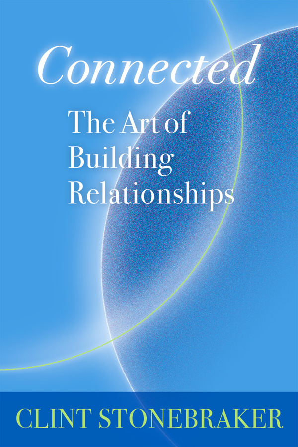 Connected Book Cover, design by Penina S. Finger