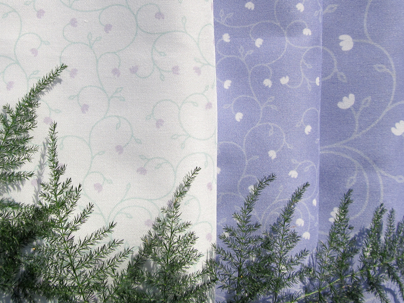 Fabric Pattern: Baby Tears - Lavender, design by Penina S. Finger