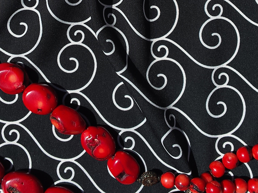 Fabric Pattern: Dark Sea, design by Penina S. Finger