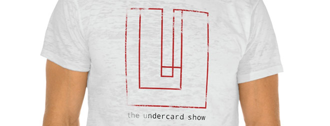 Teeshirt design for The Undercard Show by Penina S. Finger