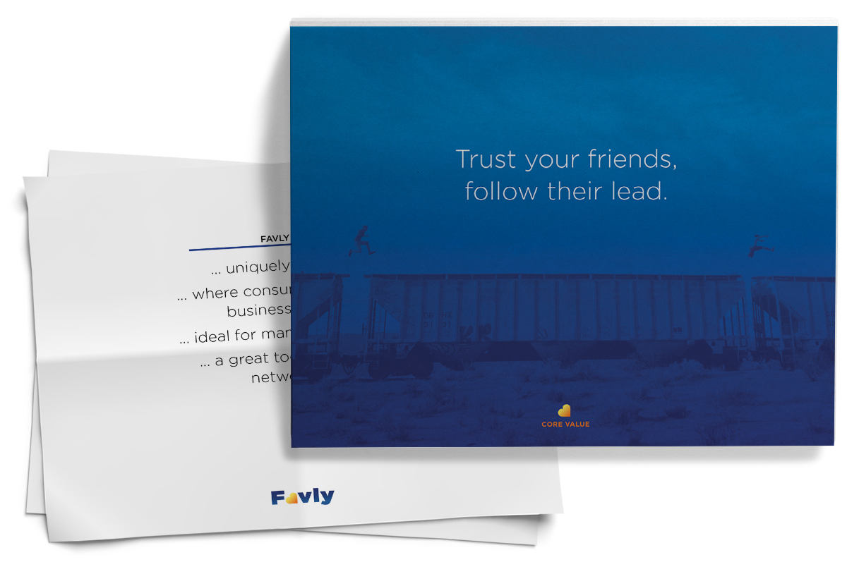 Brand Discovery Document for Favly, Inc. created by Penina S. Finger