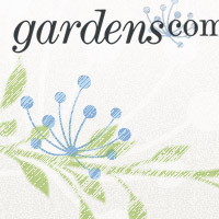 Visual identity: Gardens.com, design by Penina S. Finger